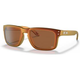 Oakley Holbrook Sunglasses Men tld matte red/gold colorshift/prizm ruby alt iridium